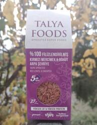 Talya Foods - Talya Foods Filizlenmiş Glutensiz Kırmızı Mercimek - Nohut Arpa Şehriye 200g