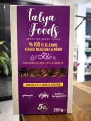 Talya Foods - Talya Foods Filizlenmiş Glutensiz Kırmızı Mercimek - Nohut Makarna 200g