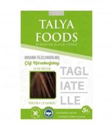 Talya Foods - Talya Foods Organik Filizlenmiş Karabuğday Tagliatelle Makarna 200g
