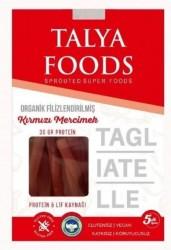 Talya Foods - Talya Foods Organik Filizlenmiş Kırmızı Mercimek Tagliatelle Makarna 200g