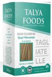 Talya Foods - Talya Foods Organik Filizlenmiş Yeşil Mercimek Tagliatelle Makarna 200g