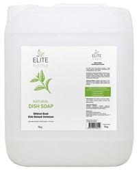 The Elite Home - The Elite Home Organik Sertifikalı Elde Bulaşık Deterjanı - Kokusuz 5 kg