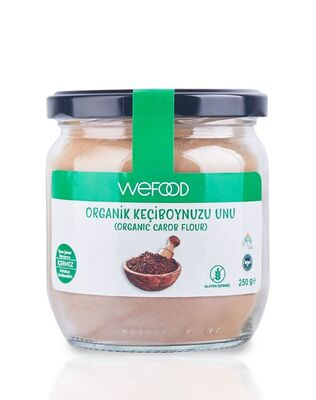 Wefood Organik Glutensiz Keçiboynuzu Unu 250g
