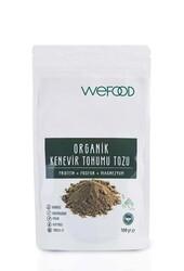 Wefood - Wefood Organik Kenevir Tohumu Tozu 100g