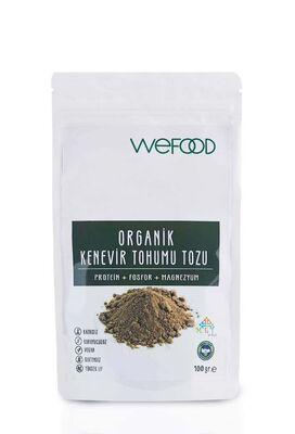 Wefood Organik Kenevir Tohumu Tozu 100g
