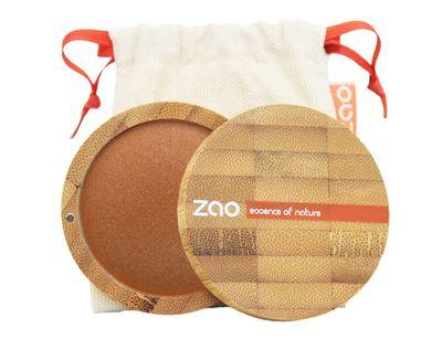 Zao Mineralli Terakotalı Sıkıştırılmış Pudra/ Mineral Terracota Cooked Powder 101341-346